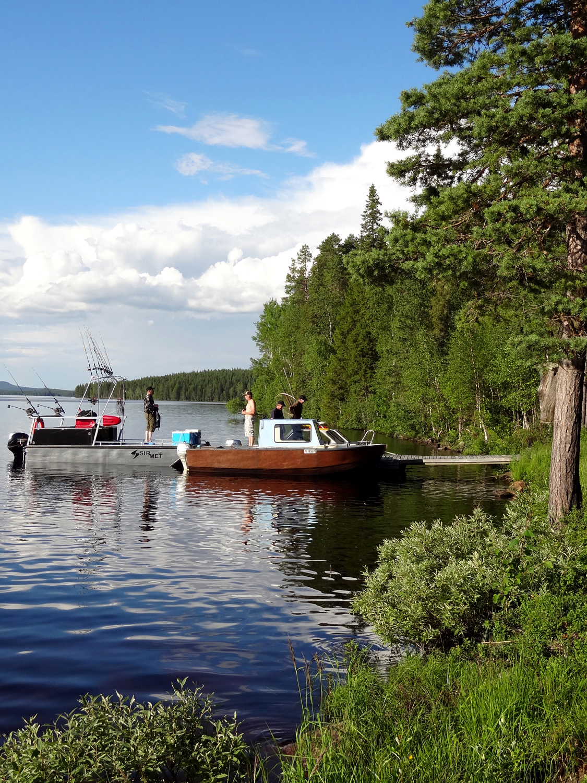 Boat line fishing trips